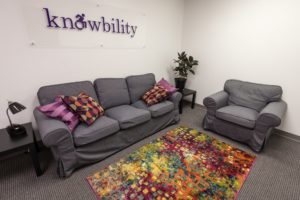 Knowbility Lobby Office